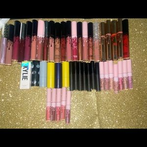 My Kylie Jenner lip collection